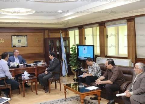 """محافظ كفر الشيخ: """"ميكنة الخدمات"""" توفر الجهد والوقت وتسهل على المواطن"""