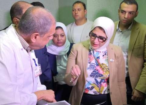 """زايد تتأكد من جاهزية مستشفى شرم الدولي للتأمين الطبي لـ""""شباب العالم"""""""