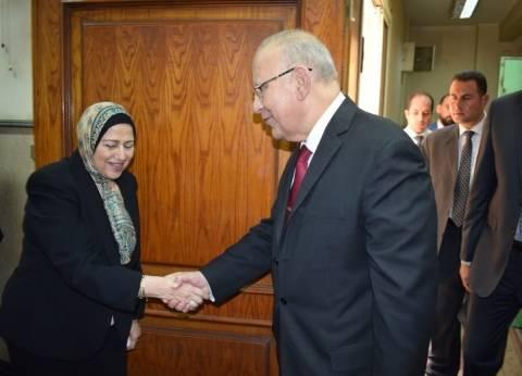 وزير العدل يهنئ أماني الرافعي لتوليها منصب رئيس هيئة النيابة الإدارية