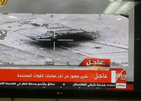 بالصور| الجيش: دمرنا مناطق تمركز وتدريب مخططي حادث المنيا في ليبيا