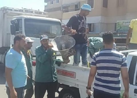 تعمير دمياط الجديدة تطالب سكان الأحياء بسرعة إزالة مخلفات المباني