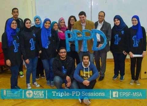 """طلاب """"صيدلة MSA"""" يطلقون حملة لتطوير المهنة: """"الصيدلي دكتور مش بياع"""""""