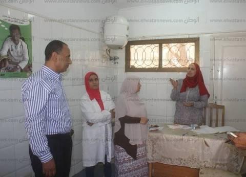 بالصور  رئيس مدينة دسوق يطمئن على توافر الأدوية بوحدة حي الدلتا