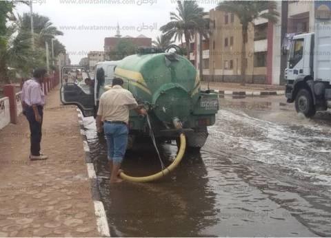 """طوارئ في جنوب سيناء لسحب تراكمات مياه الأمطار وتحسبا لـ""""سيول"""""""