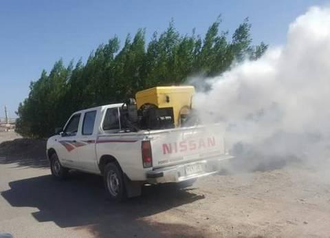 سيارة «رش» الحشرات تجوب شوارع «البحر الأحمر» لمنع انتشار «حمى الضنك»