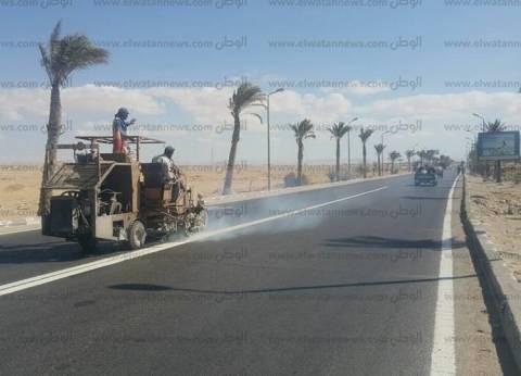 451 مليون جنيه تكلفة تطوير الطرق الداخلية بمدينتي شرم الشيخ والطور