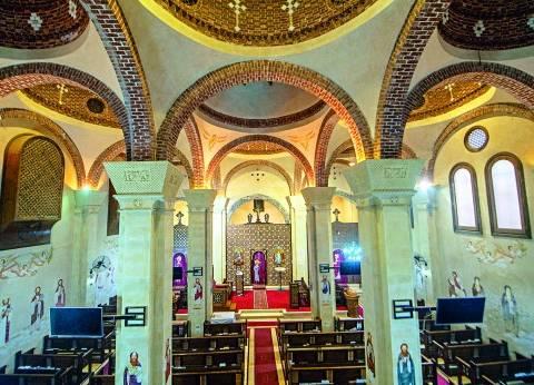 كنيسة السيدة العذراء فى «سخا».. هنا «طبع المسيح قدمه»