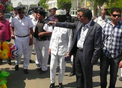مدير أمن الإسماعيلية يعتمد حركة التنقلات الداخلية للضباط