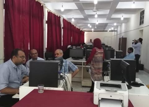 انتهاء المرحلة الأولى من تنسيق طلاب الثانوية العامة بجامعة المنيا