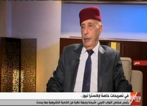 """عقيلة صالح: السيسي قال لي في أول لقاء """"الشعب الليبي على دماغنا"""""""