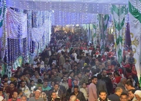 بالصور  مؤتمر جماهيري حاشد لدعم السيسي في كفر البطيخ بدمياط