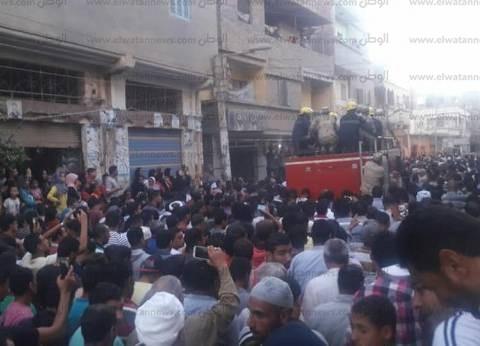 الآلاف يشيعون جثمان شهيد الواجب بسيناء بقرية النزل في الدقهلية