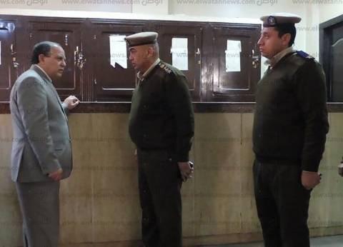 بالصور| مدير أمن كفر الشيخ يتفقد عددا من المواقع الشرطية