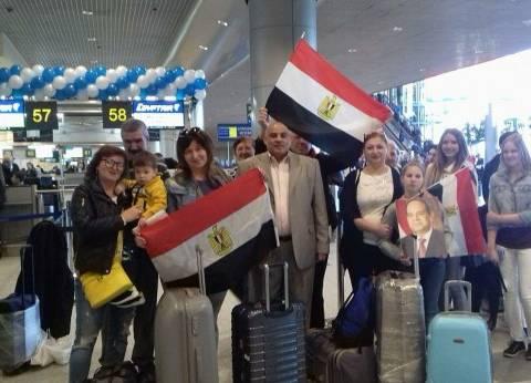 """""""مصر للطيران"""" تهنئ المصريين بأعياد تحرير سيناء"""