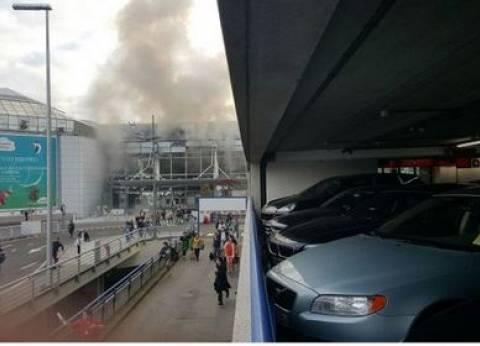 عاجل| مقتل 13 وإصابة 35 آخرين في انفجاري مطار بروكسل