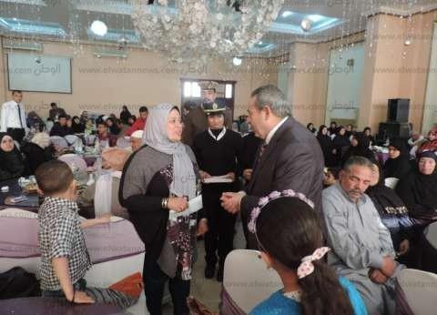 مدير أمن القليوبية يقيم حفلا لتكريم أسر الشهداء