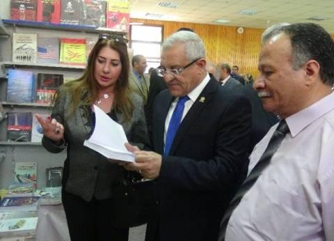 22 دار نشر تشارك في معرض الكتاب الخامس في جامعة المنيا
