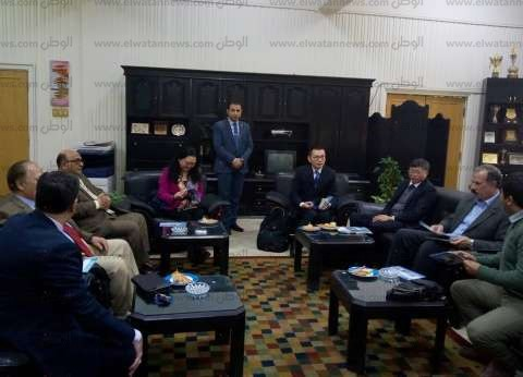 وفد صيني يزور جامعة الزقازيق لبحث تعزيز التعاون العلمي والثقافي