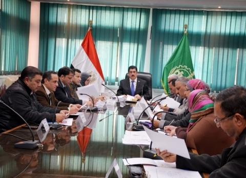 محافظ القليوبية يترأس اجتماع مجلس أمناء مكتبة مصر العامة