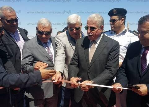 بالصور| محافظ جنوب سيناء يفتتح منتزهين بمدينة طور سيناء
