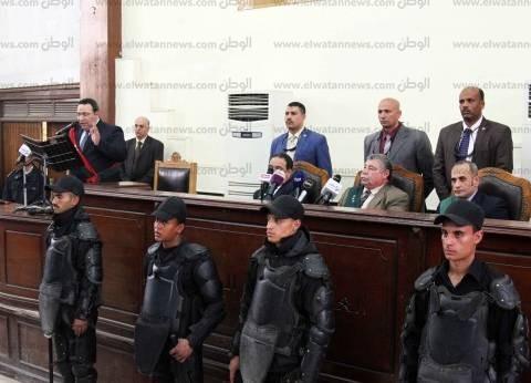 """غدا.. الجلسة الـ65 لمحاكمة بديع ونجل المعزول في """"اعتصام رابعة"""""""