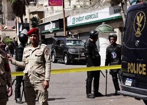 استشهاد رقيب شرطة ومجند وإصابة 3 آخرين فى تفجير إرهابى استهدف موكب مدير أمن الإسكندرية