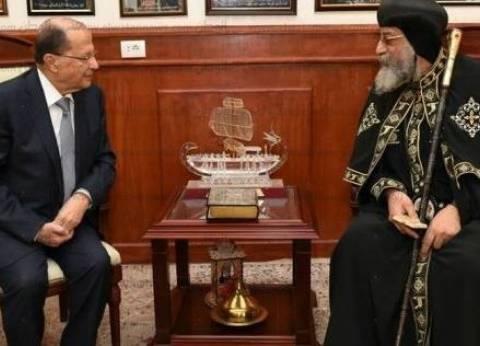 بالصور| قبل محمد بن سلمان.. زعماء وقادة عرب زاروا الكاتدرائية المرقسية