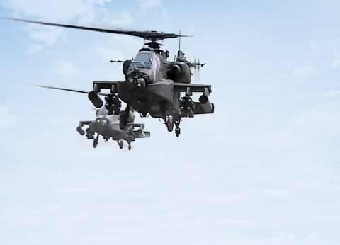 المقاتلات تدك بؤر الإرهاب فى سيناء