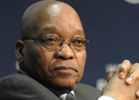 إرجاء خطاب رئيس جنوب افريقيا زوما وسط غموض بشأن مصيره