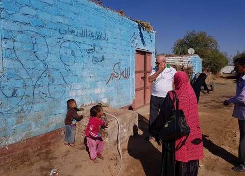 """مؤسسة """"بن راشد"""" تبدأ حملة بناء الأسقف في صعيد مصر"""