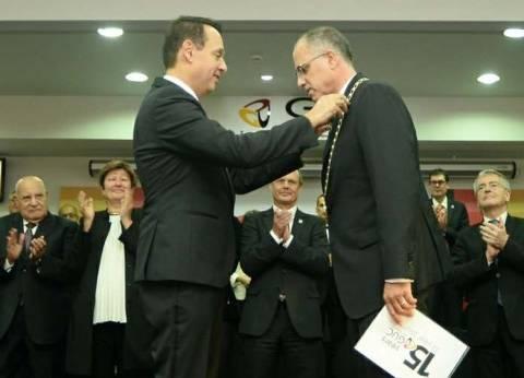 رئيس الجامعة الألمانية الجديد: نحتل مكانتنا في طليعة مصر والمنطقة