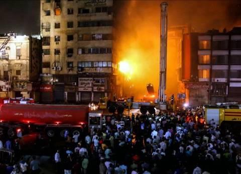 عاجل| 4 سيارات إطفاء تحاول السيطرة على تجدد حريق العتبة