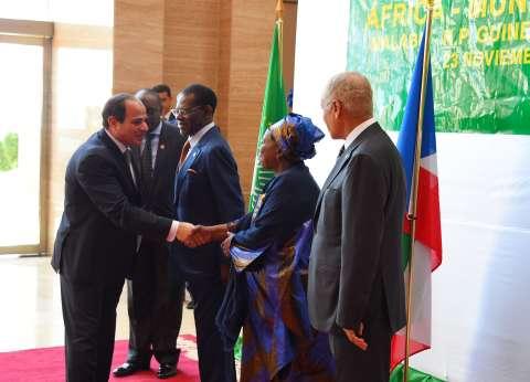 بالصور| مشاركة الرئيس السيسي في القمة العربية الإفريقية