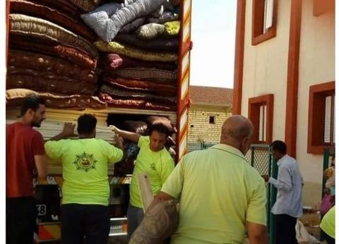 """مركز الخارجة يُسلم منازل لـ34 أسرة ضمن مشروع """"سترة"""""""