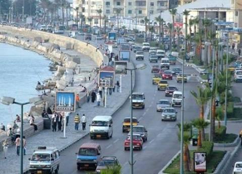 سهولة في وصول الناخبين للجانهم بعد استقرار الأحوال الجوية بالإسكندرية