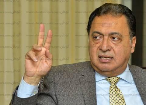 وزير الصحة: وفرنا نظام الاتصال عن بعد بمستشفى 15 مايو منعا للميكروبات