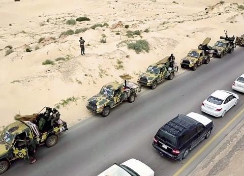 أحمد المسماري: اشتباكات بين الجماعات الإرهابية والجيش الليبي في طرابلس