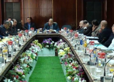 بالصور| اجتماع محافظ الدقهلية مع مجلس إدارة المنطقة الصناعية بجمصة