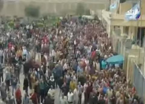 """برلماني عن حشود أهل المحلة أمام اللجان: """"مقدرتش أمسك دموعي"""""""