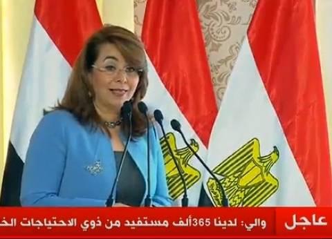 وزيرة التضامن: خصصنا 117 وحدة متنقلة لجذب الأطفال من الشوارع