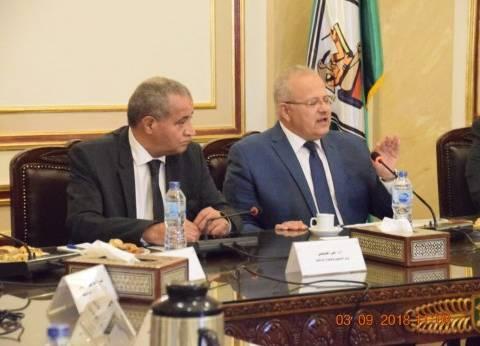 """""""التموين"""" توقع بروتوكول تعاون مع جامعة القاهرة لتدريب موظفيها"""