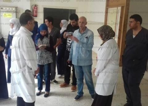 """وكيل """"صحة الشرقية"""" يتفقد مستشفيات الصالحية الجديدة والقرين"""