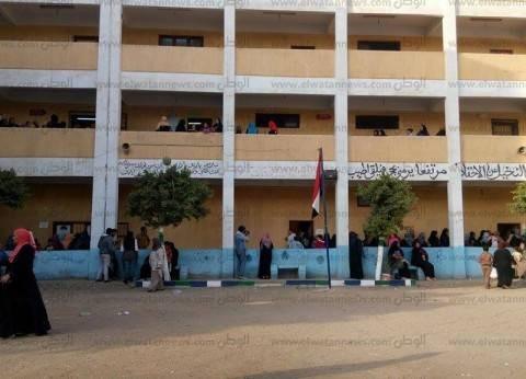 إقبال الناخبين على لجان الانتخابات في المنوفية قبيل إغلاق التصويت