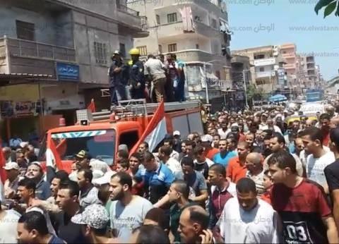 اليوم.. جنازة عسكرية لشهيد الدقهلية من مسجد النصر بالمنصورة