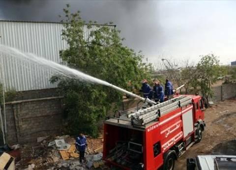إخماد حريق شب في عقار سكني بالهرم