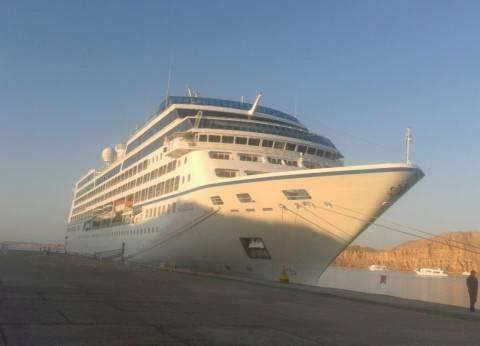 ميناء السخنة يستقبل سفينة ركاب على متنها 90 سائح