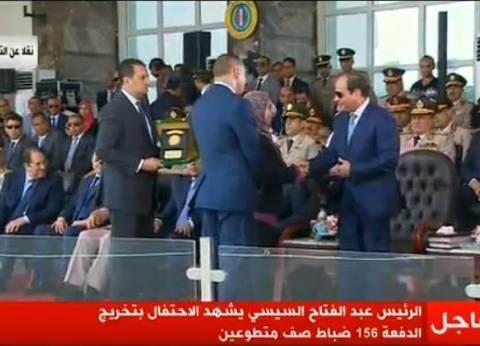 """أبناء الشهيد """"عطية صالح"""": """"السيسي قال لنا مصر فخورة بيكم"""""""