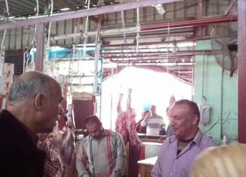 بالصور| رئيس مدينة سمنود يحذر التجار من التلاعب بأسعار اللحوم