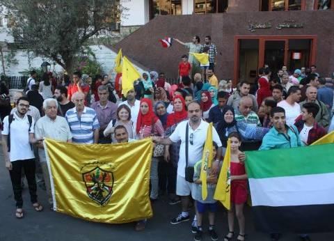«على الحلوة والمرة».. الفلسطينيون يتقاسمون الحياة مع المصريين