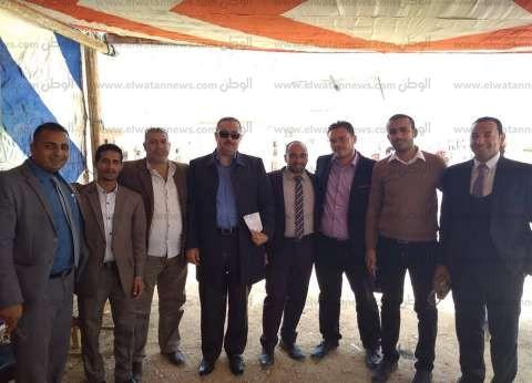 مسيرة للمحامين في رأس سدر لحث المواطنين على المشاركة بالانتخابات